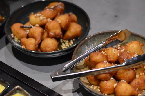 Loukoumades - honey donuts from Mordeo Bistro and Bar
