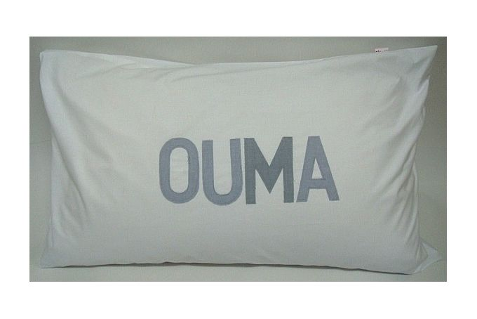 OUMA - Applique Pillowcase by Big Heart Company