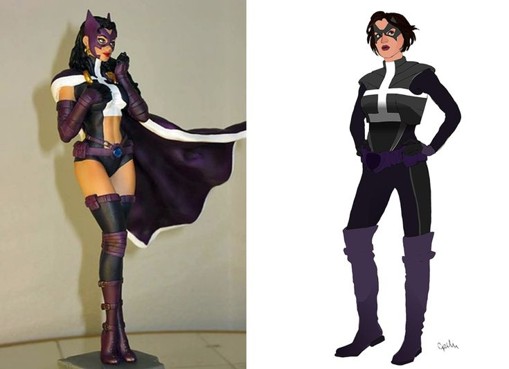 Huntress | 12 Lady Superhero Costumes Redesigned By Ladies  Love Zatanna, Starfire, and Wonder Woman. Maybe I'll be this WW for Halloween...