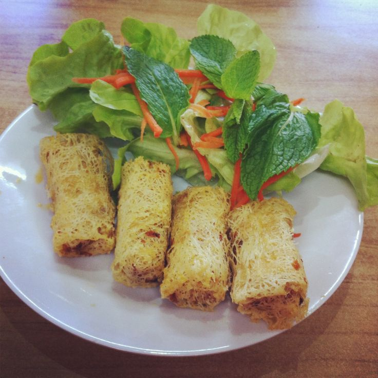 Spring Rolls With Shredded Cabbage, Mushrooms, And Tofu ...