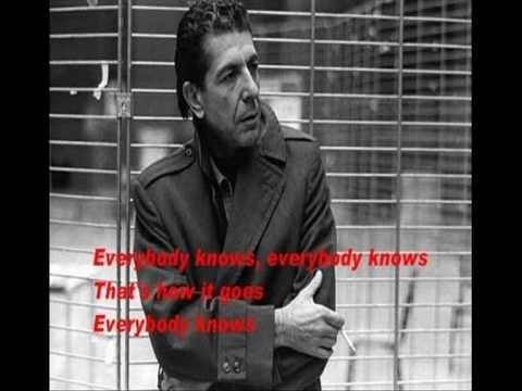 "LEONARD COHEN: EVERYBODY KNOWS (Lyrics).    After listening to this, you should never forget that you need verbs with ""s"" (3rd person SINGULAR) after Everybody, everyone, everything, everywhere . . .   (and it´s a great, dark song)."