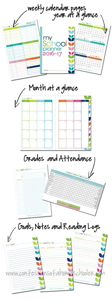 Best Planners Images On   Blog Planner Free