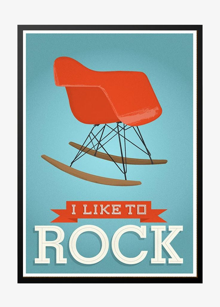 Eames, I like to rock