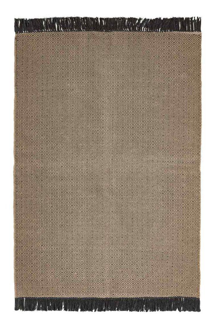 Jacquard szövésű szőnyeg - Szürke/Anthracite szürke - HOME | H&M HU 1