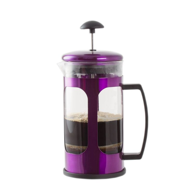 Imperial Home French Press Coffee Maker (Purple) #Imperial #Home #French #Press #CoffeeMaker (Purple)