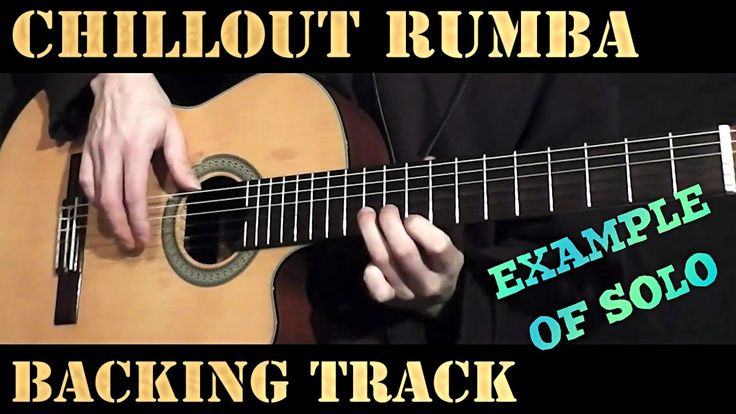Spanish Guitar Chillout Latin Rumba Backing Track