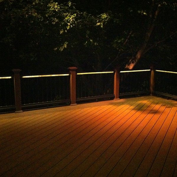 Odyssey led strip light by aurora deck lighting for Balcony lights