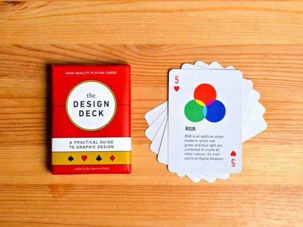A Beautiful & Educational Deck Of Graphic Design Playing Cards For Designers