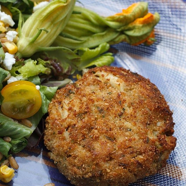 My Famous Crabcakes Recipe with crab meat, flat leaf parsley, roasted red peppers, sweet onion, seasoned bread crumbs, Hellmann's® Real Mayonnaise, large eggs, sugar, old bay seasoning, worcestershire sauce, fresh lemon juice