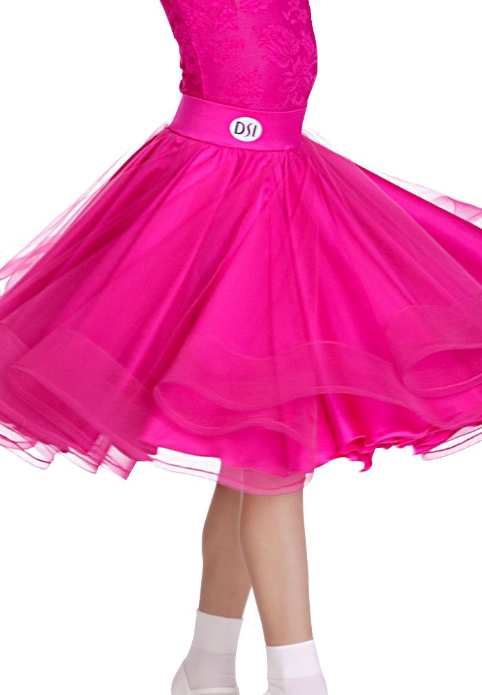 DSI Zeta Juvenile Skirt 1083 | Dancesport Fashion @ DanceShopper.com