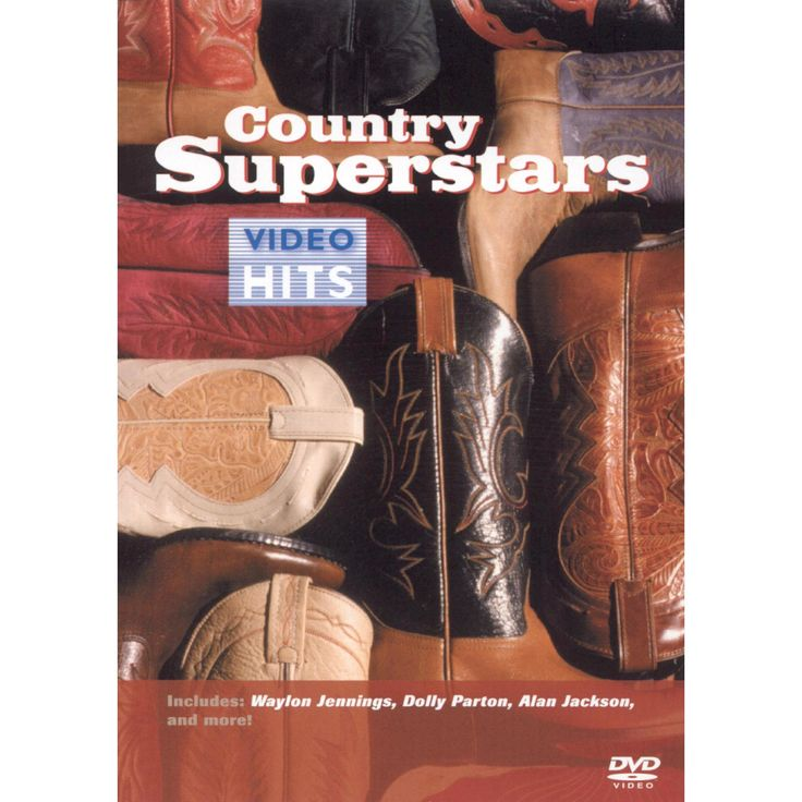 Country superstars:Video hits (Dvd)