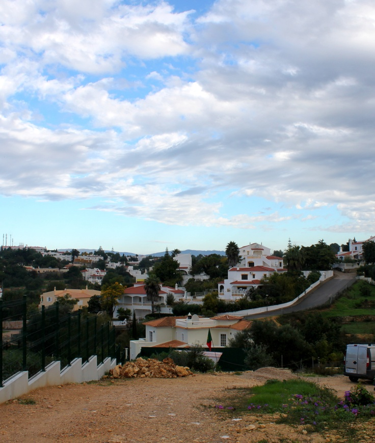 Sunshine and clouds over the valley #carvoeiro #algarve