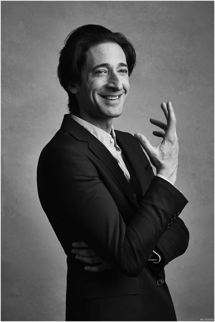 Adrien Brody Stars in Mr Porter Shoot, Talks Acting & Directing