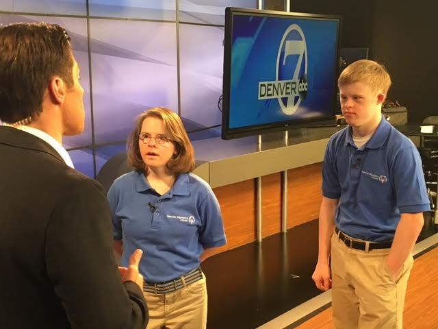 Duo Become First Reporters With Down Syndrome at Local News Station