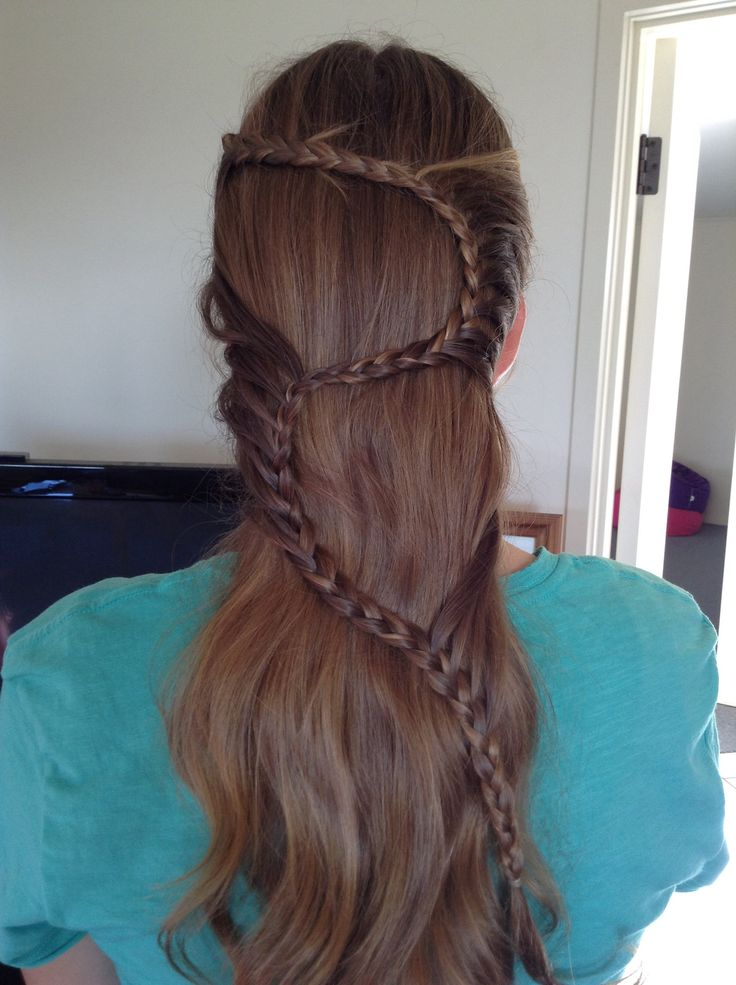 Squiggly Lace Braid