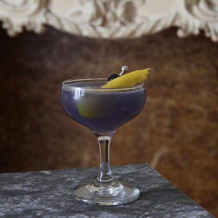 3 cr me de violette cocktails to get you ready for spring for Mixed drink recipes by ingredient