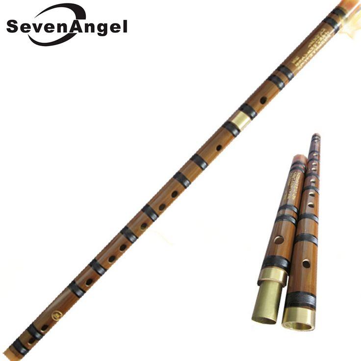 Cina Bambu flute dizi bambu Alami nasional alat musik Profesional flauta Dua bagian dengan kuningan plug
