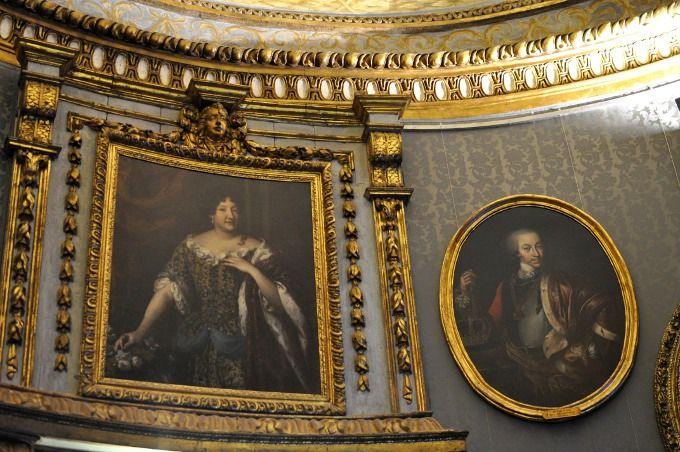 Lovely frames @ Palazzo Madama, Torino