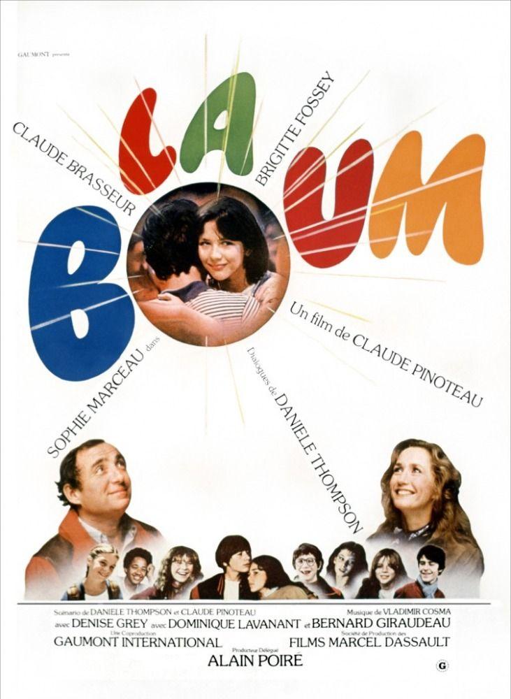 Mon premier film culte.                          La Boum (1980), Claude Pinoteau.