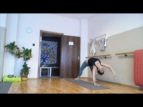 55 perces dinamikus erősítő jóga