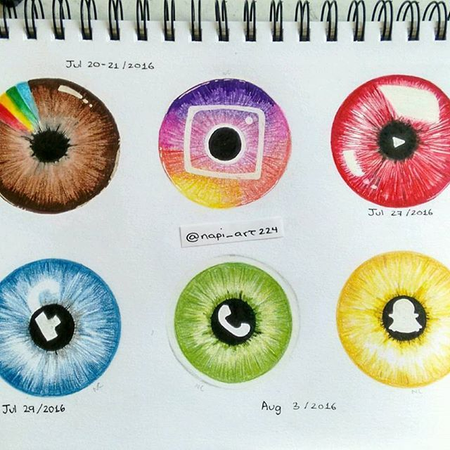 "@napi_art224 Here's my new piece ""Social Iris"". I posted previously a picture of…"