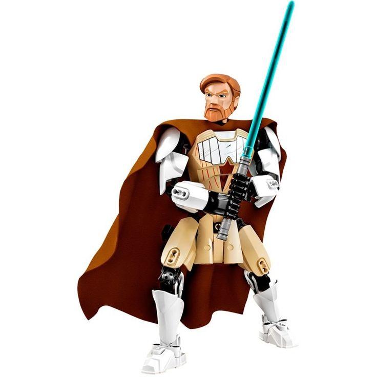 I WANNAAA!!!! // Semaan Brinquedos - LEGO Star Wars - Obi-Wan Kenobi Com 83 Peças