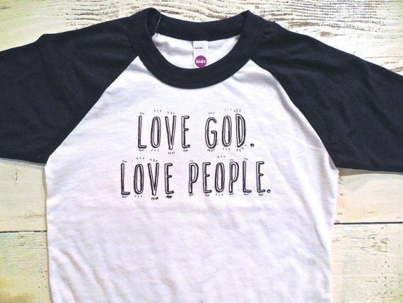 Love Godlove people toddler shirt. Christian by Sweetpeaandboy