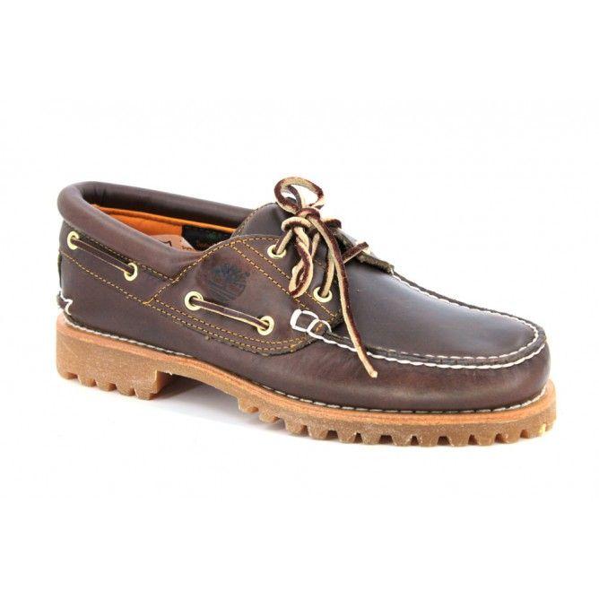 Timberland 30003 Zapatos Naúticos de Invierno con 3 Ojales para Hombres