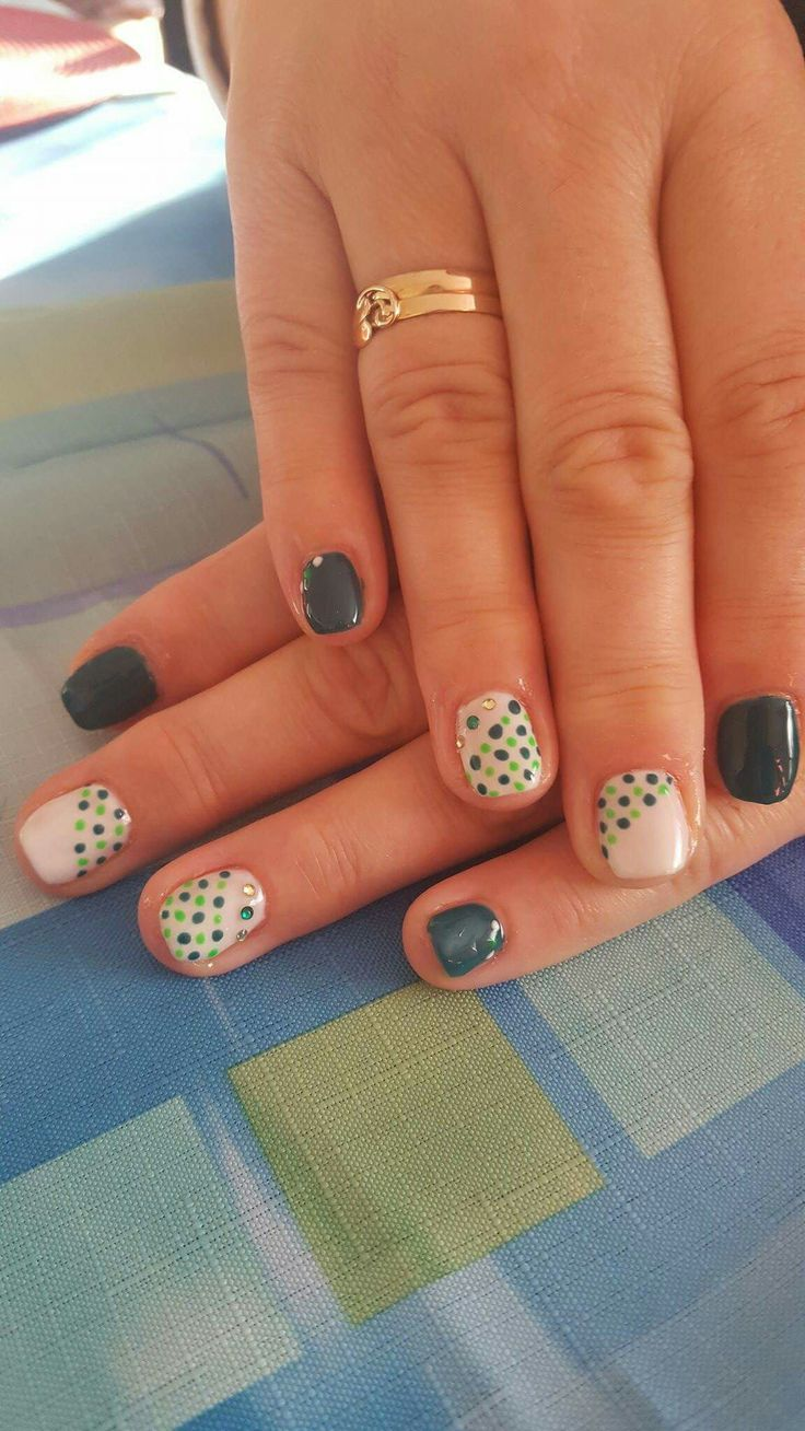 Pin by Aga Gałuszka on nails | Nails design with