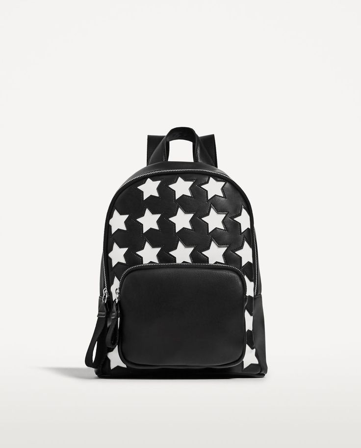 Stars Patterned Backpack from Zara R399,00