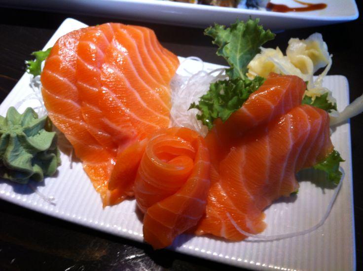 Atlantic Salmon Sashimi...ooh yumm