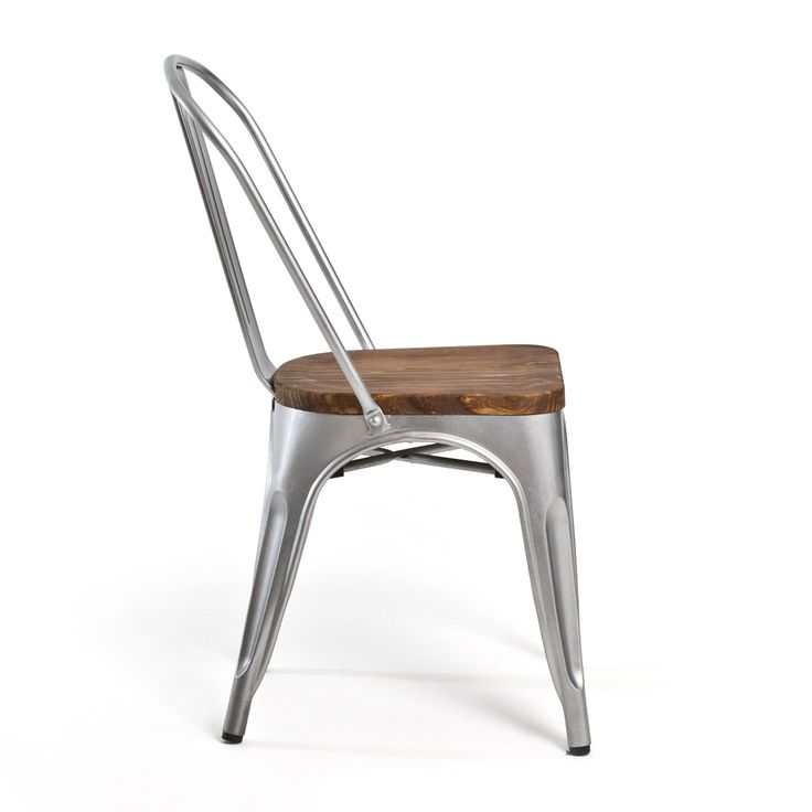 Bastille Cafe Chair (Wood Seat)