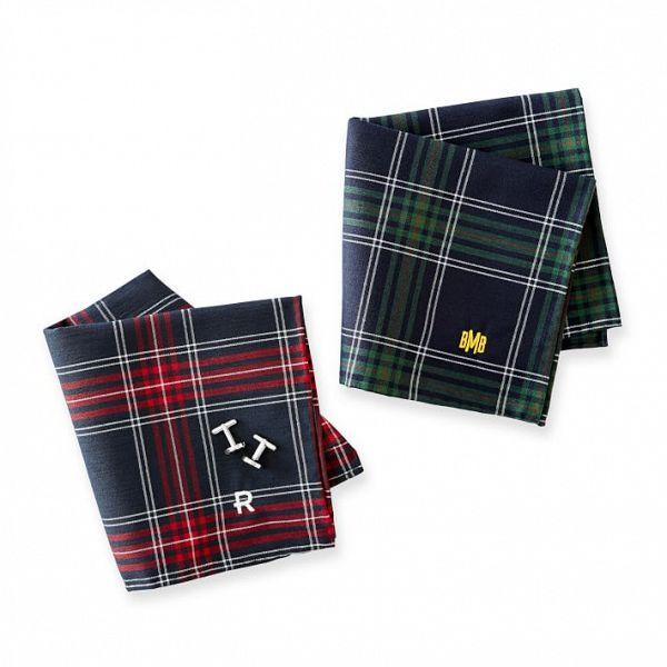 Plaid Groom Pocket Square #ad Classic plaid pocket squares