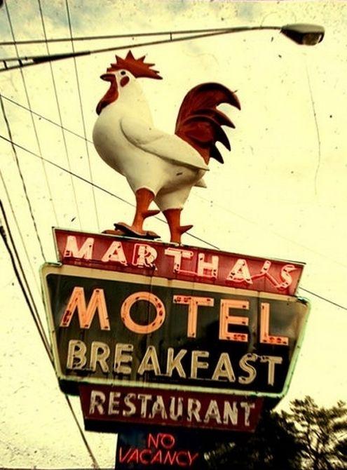 Martha's Motel and Breakfast.