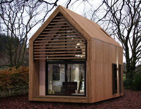 52 best images about tiny houses on pinterest cornwall for Mini wooden house