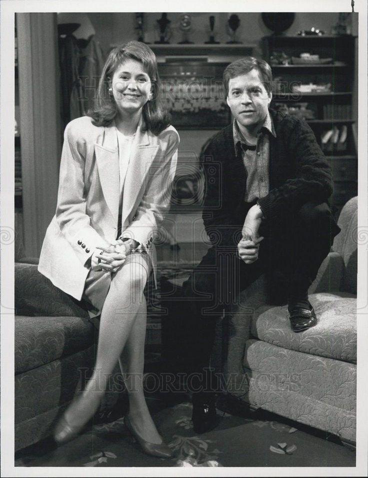 1988 Press Photo Bob Costas Jane Pauley Later With Bob Costas