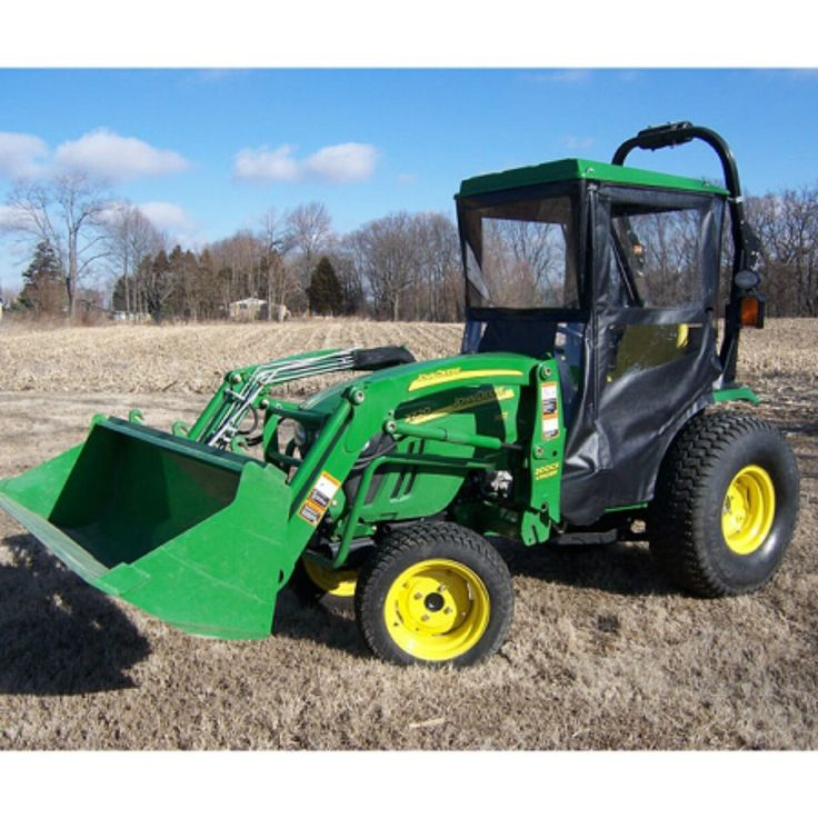 Click here to Purchase! Hard Top Cab Enclosure for John Deere 2520, 2720 & 2032R