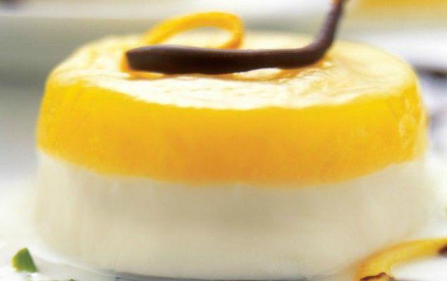 Γλυκό ψυγείου με γιαούρτι, λεμόνι και ανανά