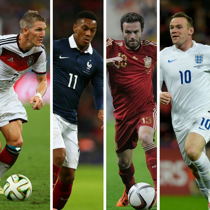 United stars learn Euro 2016 groups - Official @manutd website