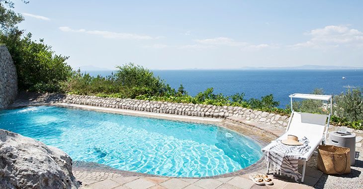Villa Indaco, Massa Lubrense. € 6500 - € 9700 /week  http://www.homeinitaly.com  #LuxuryVillasInItalyForRent #luxury #villas in #Italy. Your #fabulous #Italian #vacation