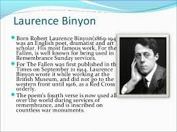Image result for Laurence Binyon