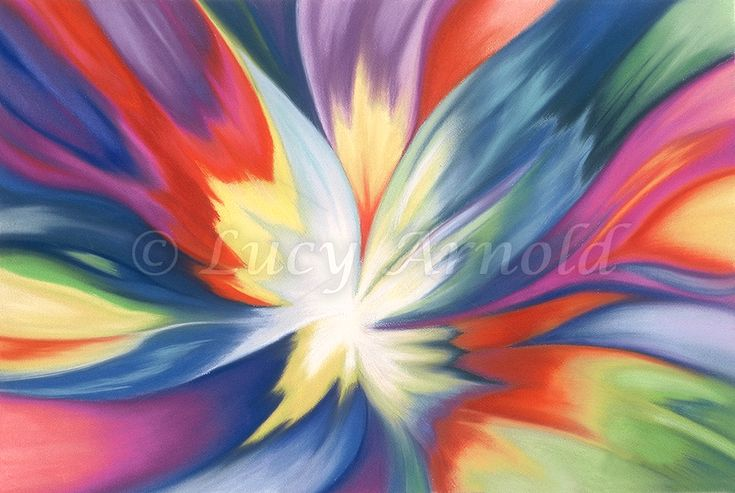 15x22 pastel Burst of Joy - Spirit Made Flesh was inspired by a vision I had while meditating many years ago. In it, a body of pure, blinding light moved toward me. As it approached…