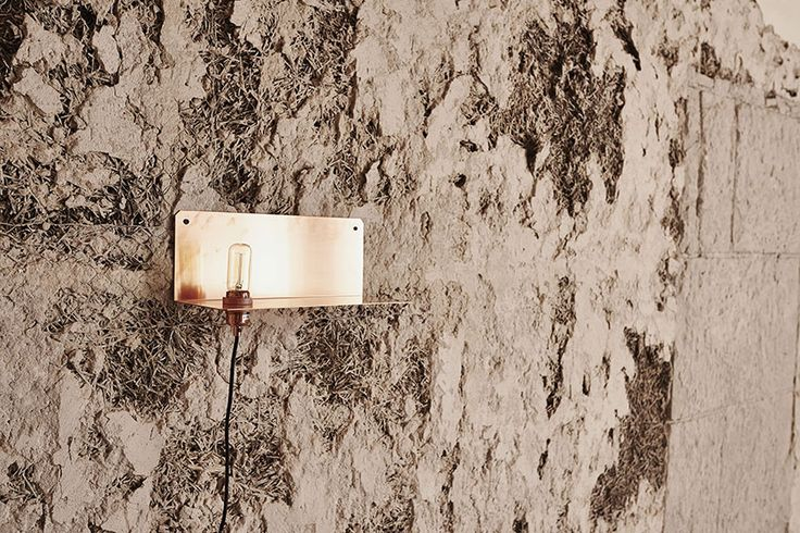 90° Wall Light in copper at the Org. Freemasons Lodge  shot by Michael Falgren