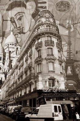 Paris by Alfred Pellan (collage)
