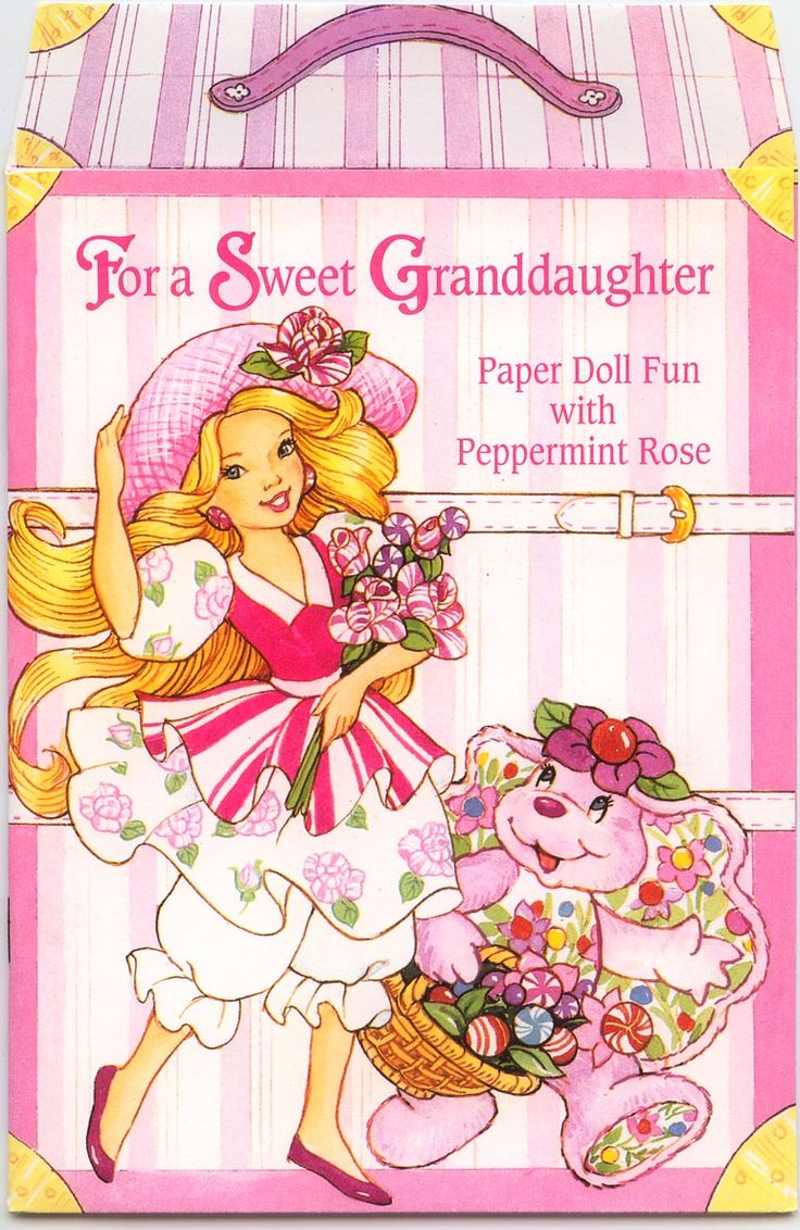 84 best greeting cards images on pinterest american greetings for a sweet granddaughter paper doll greeting doll paper doll fun with peppermint rose peppermint rose paper doll card his is an american greeting card kristyandbryce Choice Image