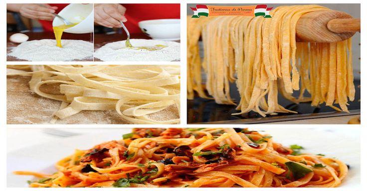 Nu poti spune ca ai cunoscut bucataria italiana pana nu ai gustat o portie de Pasta Fresca (paste proaspete facute in casa)! Trattoria di Parma - Nitu Vasile 51