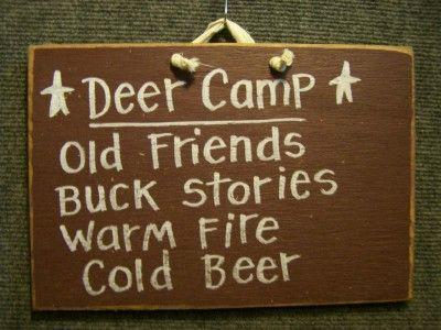 Deer Camp - Funny Wood Sign-Deer Camp Sign, Hunt camp sign, funny hunting sign, man cave decor, wood plaque deer, hunter giftDeer Camps, Camps Signs, Funny Wood, Hunting Signs, Hunters Gift, Funny Hunting, Caves Decor, Man Caves, Hunting Camps