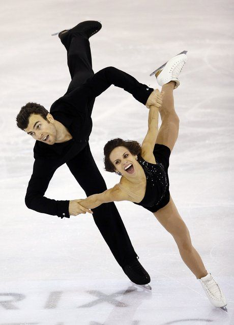 Canada's Meagan Duhamel & Eric Radford: Gold medal winners at the 2014 Grand Prix Final (Pairs)