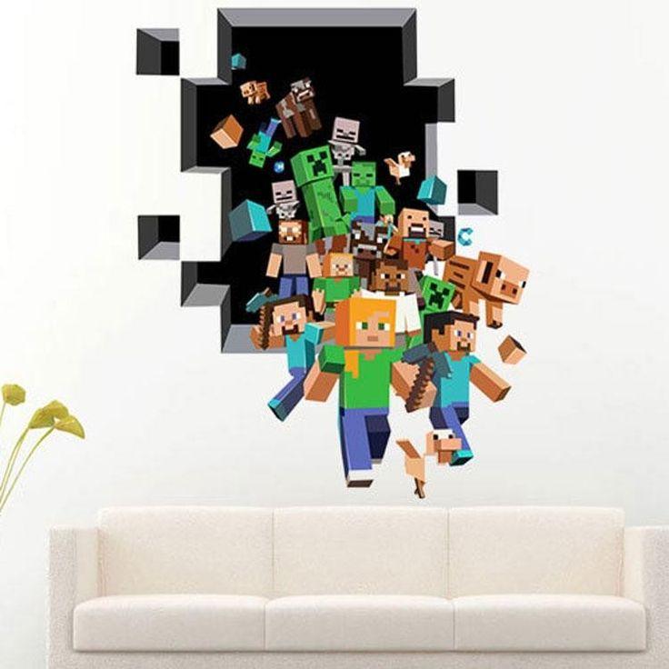 Постеры на стену майнкрафт