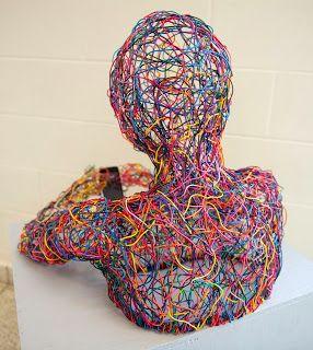 Wire Sculpture #iphone #technology #future #beautiful #robot #art #sculpture #3D